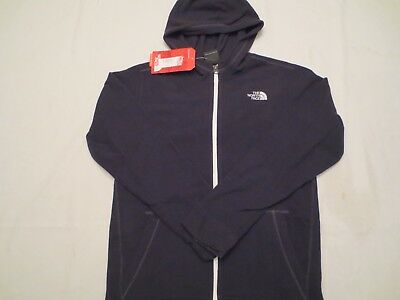 The North Face Boys Glacier Full Zip Hoodie Jacket Tnf Black Youth Size Small S