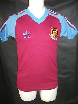 VINTAGE ADIDAS WEST Ham United 1980 football shirt - £24.99 ... 1ca905ad6