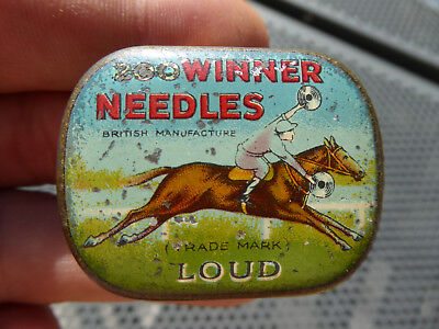 Grammophon Nadeldose - 200 Winner Needles Loud - British Needle Tin