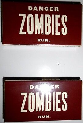 2 x Danger Zombies Run Gums