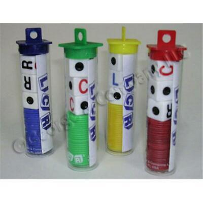George and Company LLC 2 LCR Left Center Right Dice Game Tube