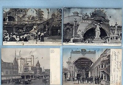 Incredible lot of 207 New York City mostly vintage postcards Coney Staten island