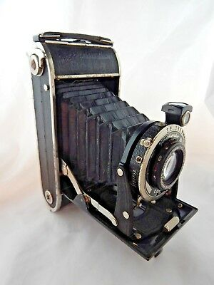 Vintage Voigtländer Folding Camera With Case