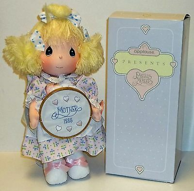 Precious Moments Katie Mother's Day 1986 Applause Doll # 5605