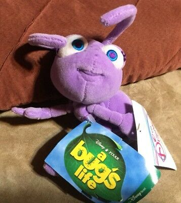 "Disney Store A Bugs Life Mini Bean Bag Dot 8"" Plush Doll - New With Tags"
