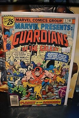 Marvel Presents Guardians of the Galaxy #5 1975 Marvel Bronze Age Comic Solo