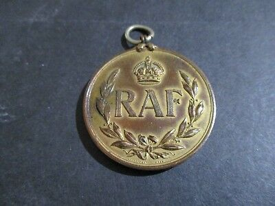 Rare 1919 Raf Boxing Association Championship Officers Welter Weight Medal