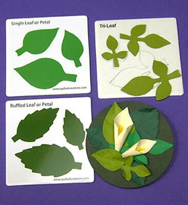 Quilled Creations: Leaves & Lilies Quilling Dies