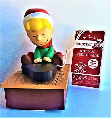 2011 Hallmark Peanuts Wireless Band - Schroeder Playing the Piano