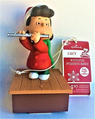 2011 Hallmark Peanuts Wireless Band - Lucy Playing the Flute