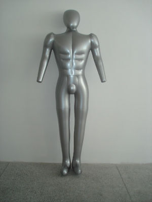 Inflatable Male Mannequin Whole Body Model With Arm Dummy Torso Model