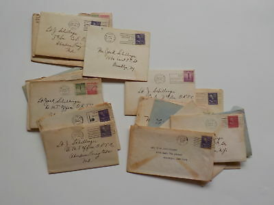 20 WWII Letters Jewish Lieutenant To Aberdeen Proving Ground Maryland WW2