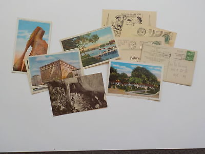 10 WWII Letters Postcards Marine Wife USMC Charles Whipple World War Two VTG WW2