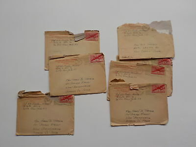 "7 WWII Letters Germany 76th Infantry Division ""Onaway"" Soldier Army WW2"