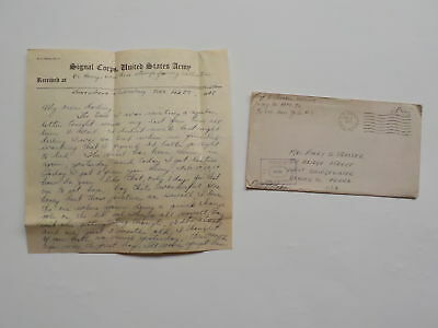 WWII Letter 1945 General Patton 3rd Army Luxembourg 76th Infantry Division WW2
