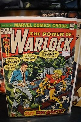 The Power of Warlock #6 7 & 8 1973 Marvel Bronze Age Comics Dr Doom Adam Warlock