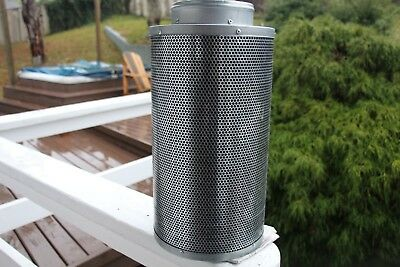 "6"" x 16"" Carbon Filter Odor Control Hydroponic Supplies"