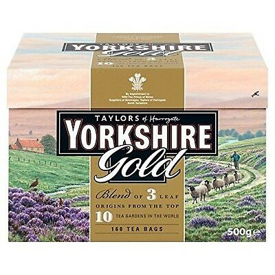 Taylors of Harrogate Yorkshire Gold, 160 Teabags Pack