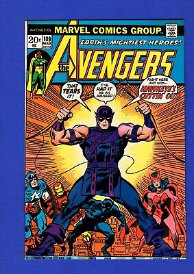 Avengers #109 Nm 9.4 Glossy Bronze Age Marvel Key