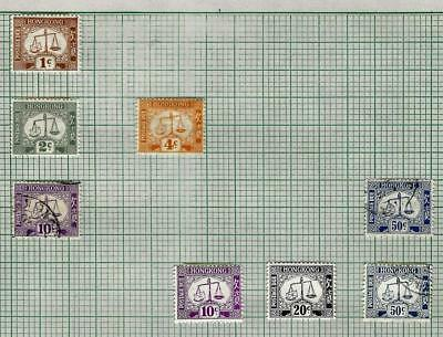 1¢ Wonder's ~ Hong Kong Mint & Used On Quad Album Pages All Shown ~ O568