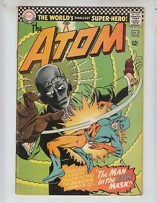 """Atom 25 VG+ (4.5) 6-7/65 Murphy Anderson cover! """"The Man In The Ion Mask!"""""""