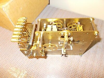 '84 HOWARD MILLER/HERMLE 1051-030A/38cm TRIPLE CHIME 8 DAY MOVEMENT