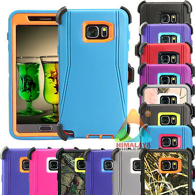 For Samsung Galaxy Note 5 Case Holster (Clip Fits Otterbox Defender) X06 Cover