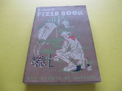 Scout Field Book Boy Scouts of America 540 pages