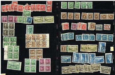 Canada Ohms Perfins Officials Etc F-Vf  (For18