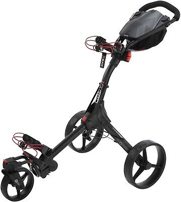Big Max IQ 360 Golftrolley - super wendig, schwarz, NEU! Originalverpackt !!!
