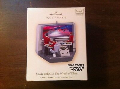 Hallmark Keepsake Ornament Star Trek Ii The Wrath Of Khan Mib! Never Opened!