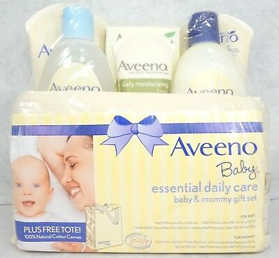 Aveeno Essential Daily Care Products Baby & Mommy Gift Set #381371016761