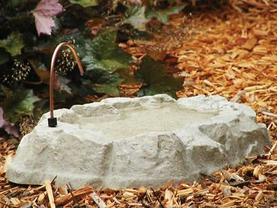 Birds Choice AAB211D Rocky Mountain Bird Bath with Dripper