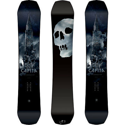 Capita Black Snowboard of Death Bsod all Mountain Men's Snowboards 2019 New