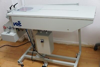 VEIT 3600 SHIRT FOLDING MACHINE TABLE for COLLARED DRESS SHIRTS