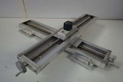 "2 x Velmex spa4021k1m UniSlide Linear Stage Positioner 17"" Travel, 30lb Max"