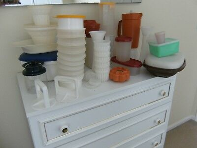 TUPPERWARE - VINTAGE ODDMENTS - postage combined on all items
