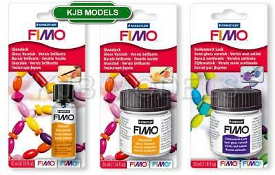 FIMO Varnish - Choice Of Gloss or Semi-Gloss - 10ml Or 35ml -For Fimo & Fimo Air