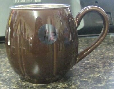 DK 22 - Brown Tea Cup with Strainer