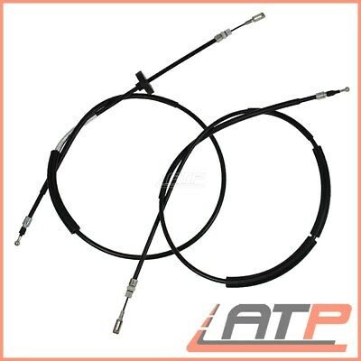 2X Handbrake Cable Rear Left+Right Audi A4 8E B6 B7 00-08 8H 02-09