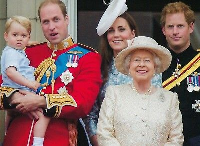 Trooping the Colour with the Queen and William and George