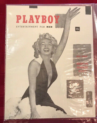 OFFICIAL PLAYBOY #1 1953 1st ISSUE MAGAZINE MINT BAG! MARILYN MONROE LICENSED