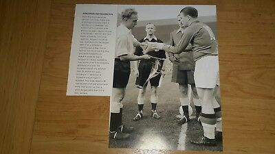 England v Hungary 1953 - & Puskas - 3 Pictures  and An Article