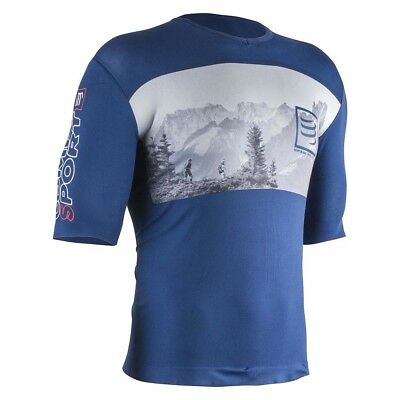 Compressport Men's, Mont Blanc training top