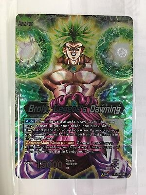 a Dragonball Super Card Game Broly Movie Promo- SEALED