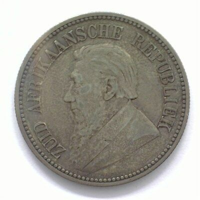 South Africa 1892-Z.a.r.  2-1/2 Shilling  Choice Very Fine