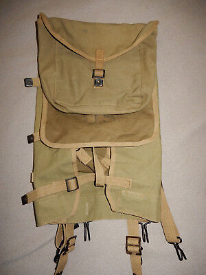 Original 1944 Dated Us Army British Made M1928 Haversack Pack, Vg Condition