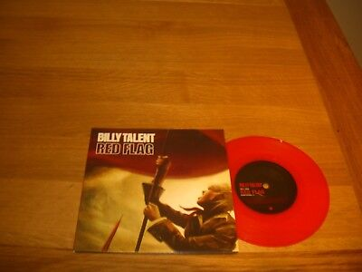 "Billy Talent-Red flag.7"" red vinyl"