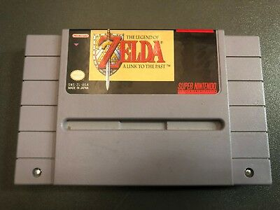 The Legend Of Zelda A Link To The Past Super Nintendo Entertainment System Game