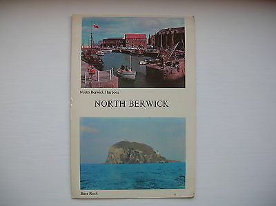 North Berwick - The Harbour and Bass Rock. (Thomson - 1960s)